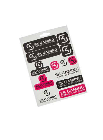 SK Gaming Sticker Set
