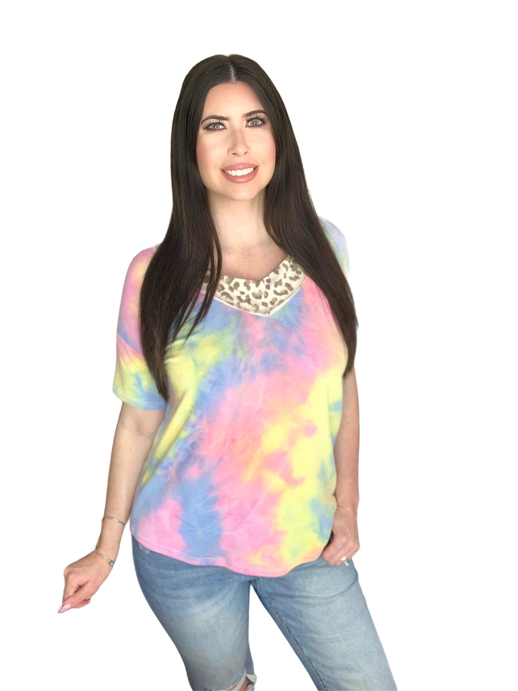 Spring Forward Top - Tie Dye