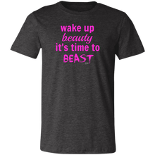 WAKE UP BEAUTY -  Short-Sleeve T-Shirt