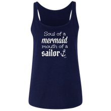 SOUL OF A MERMAID -  Relaxed Jersey Tank