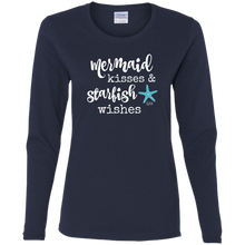 STARFISH WISHES -  Ladies' Cotton LS T-Shirt