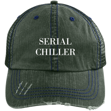 SERIAL CHILLER - Distressed Unstructured Trucker Cap