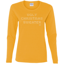 UGLY CHRISTMAS SWEATER - Cotton LS T-Shirt