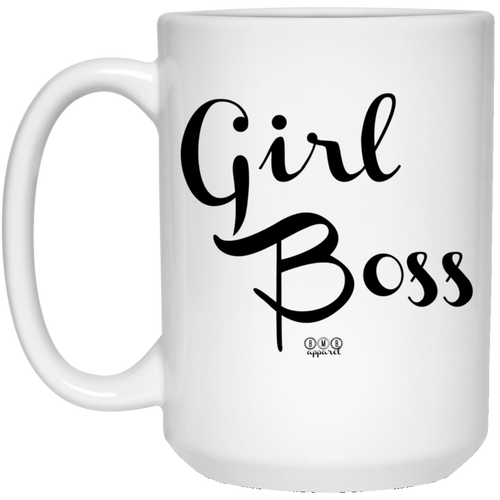 GIRL BOSS -  15 oz. White Mug