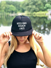 RESTING BEACH FACE -  Trucker Hat with Snapback
