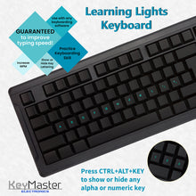 Learning Computer Keyboard guaranteed to improve typing speed for new learners practicing keyboarding skills by KeyMaster Electronics