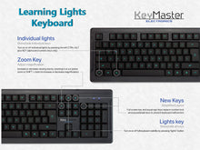 How to Guide for Learning Lights Keyboard show or hide individual keys for touch type mastery lights key hides key visibility for touch typing practice