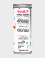 NEW!!! Raspberry Lemonade (Case of 12) - Wild Fizz Kombucha brewed in London