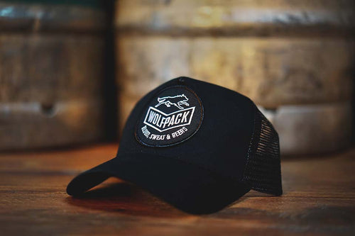 Wolfpack 'Blood, Sweat & Beers' Trucker Cap