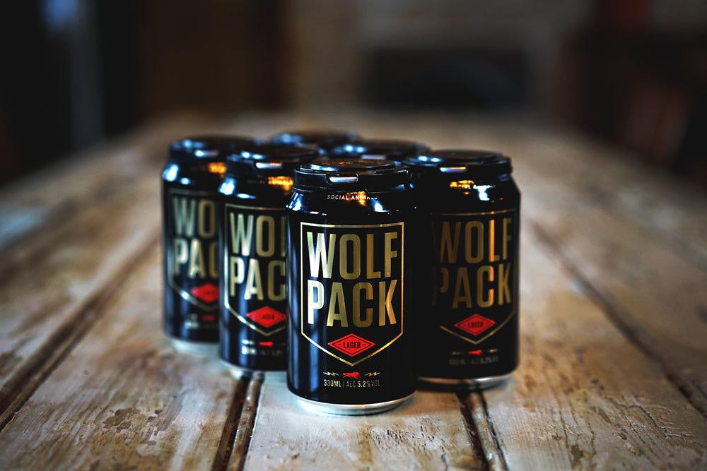 Wolfpack 'Lager' 12 Pack (half a case)