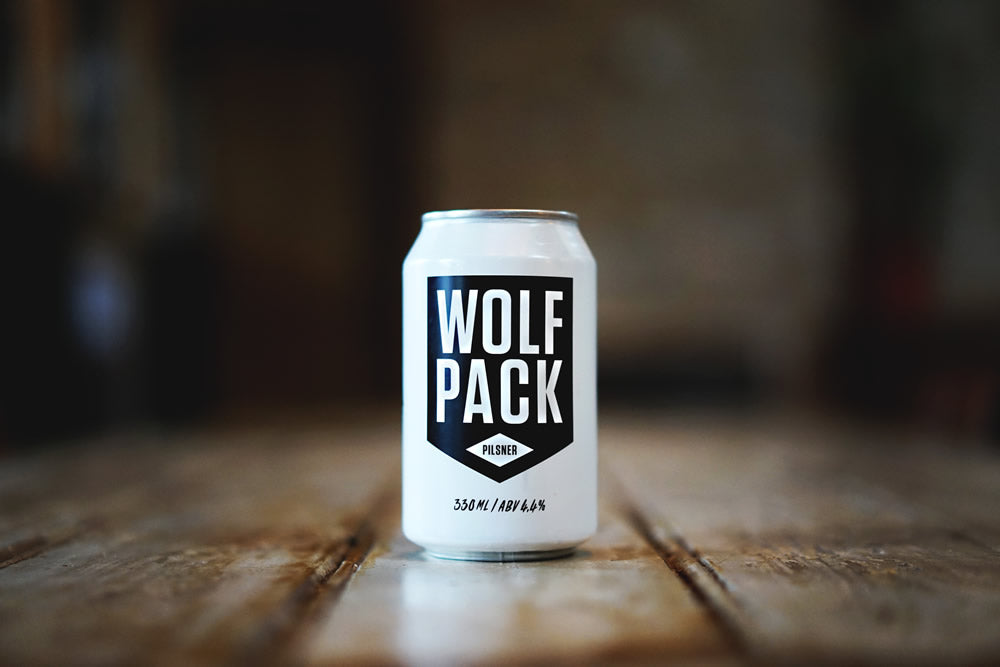 Wolfpack Pilsner x24 Cans (1 case) BUY NOW***