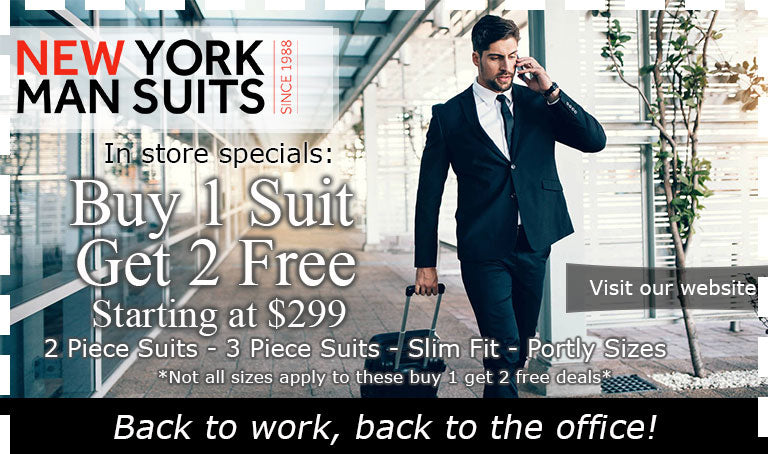 Suit - NYMSuits - May 2021 Summertime Deals