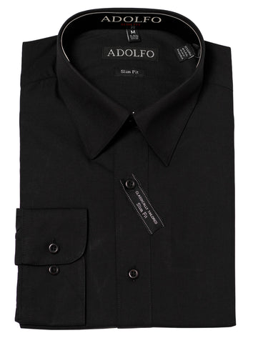 Adolfo Mens Slim Fit Dress Shirt -AF104