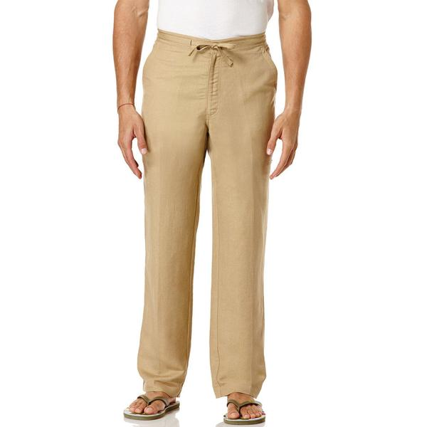 Natural Corn Linen Pants