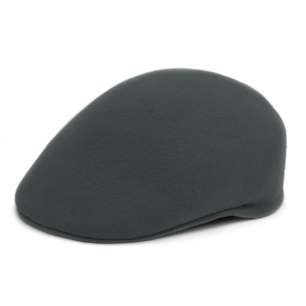 Classic Premium Wool Grey English Hat - Ferrecci USA