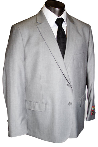 Giorgio Fiorelli 2 Button Medium Grey Executive Cut - Portly Suit - G45001