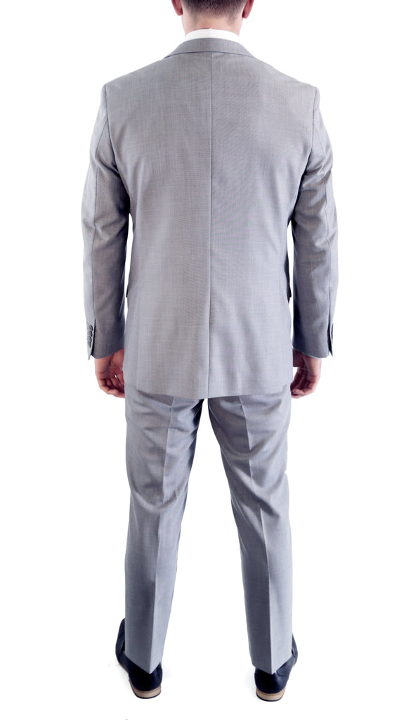 Lite Grey Slim Fit Suit - 2PC - HART - Ferrecci USA