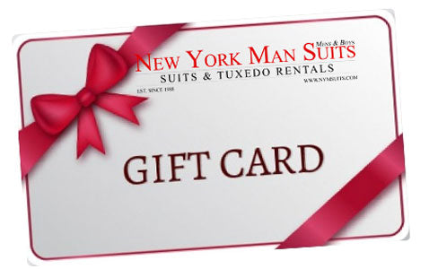 New York Man Suits - Gift Cards