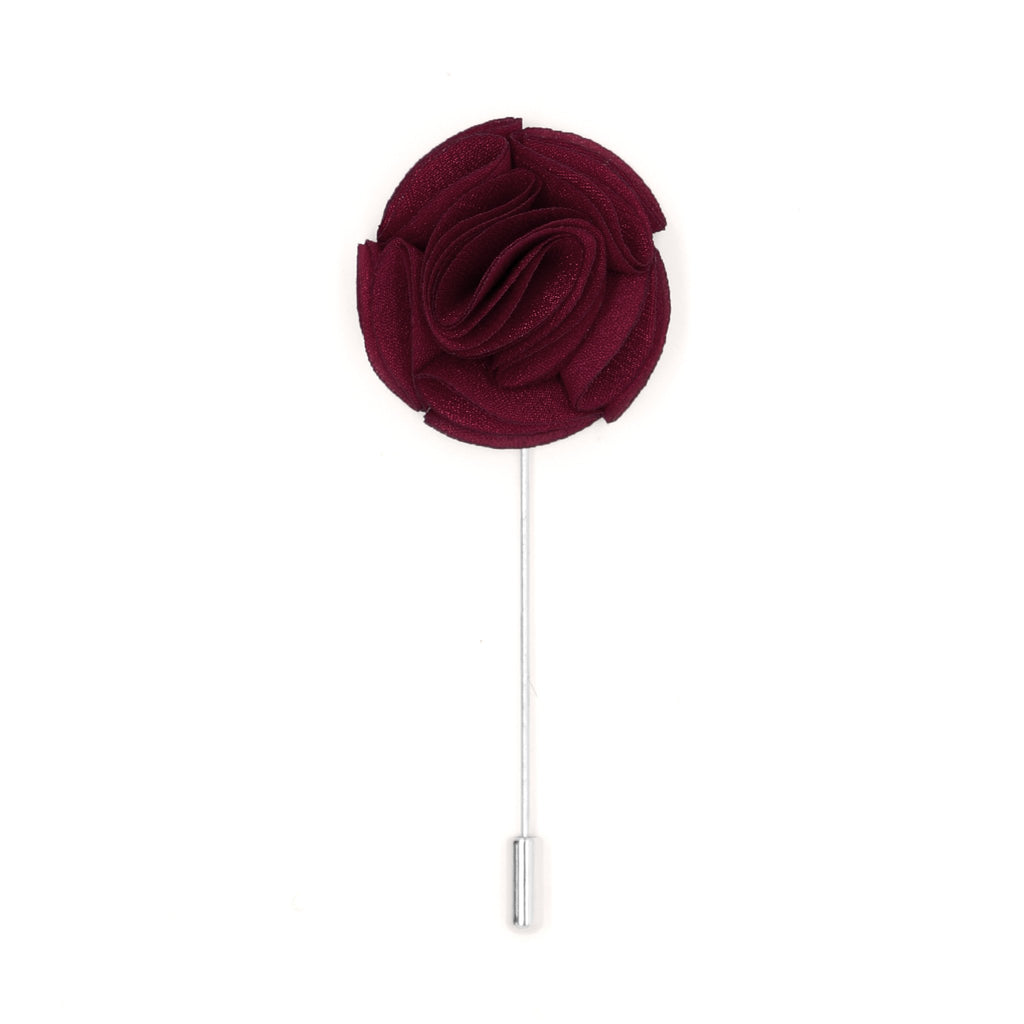 Ramona 12 Burgundy Lapel Pin - Ferrecci USA
