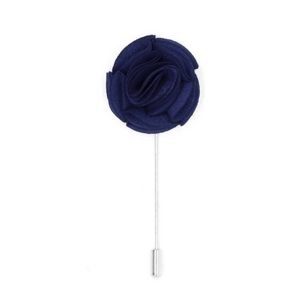 Ramona 14 Navy Lapel Pin - Ferrecci USA