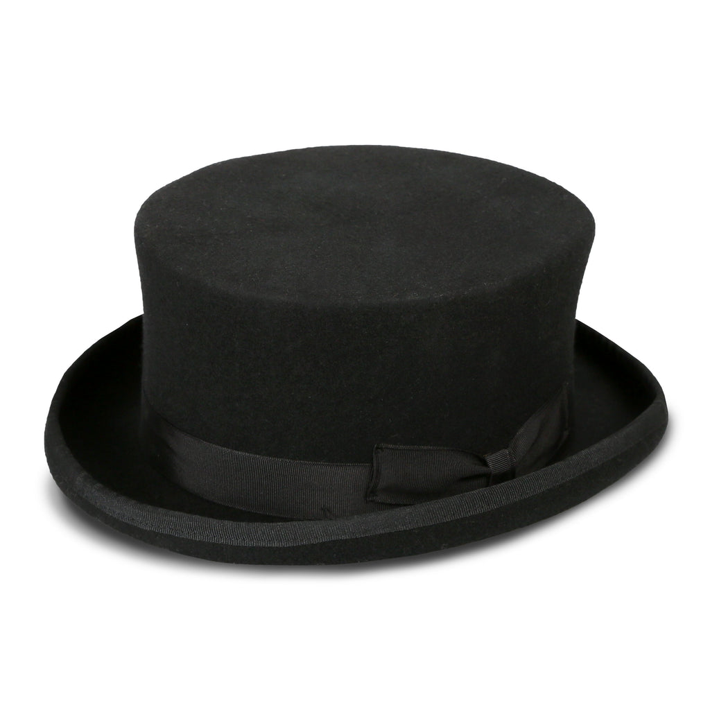 Ferrecci Men's Black Stout Top Hat - Ferrecci USA