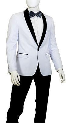 YS81A Slim Fit 1 Button Shawl Lapel Tuxedo