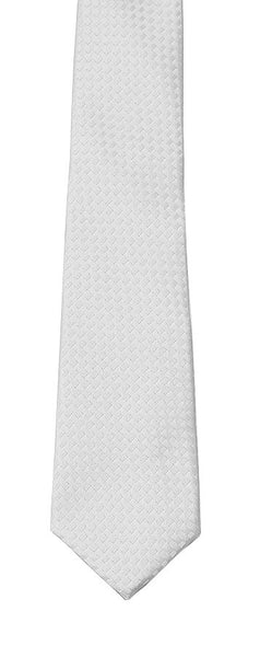 Joseph Lee Boys White TNT Tie - WHTIE