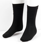 LUXURY DRESS SOCKS W/ TUX LABLE-Black