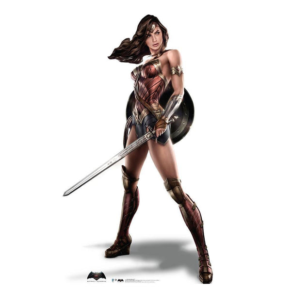Batman v Superman: Dawn of Justice Wonder Woman Standee