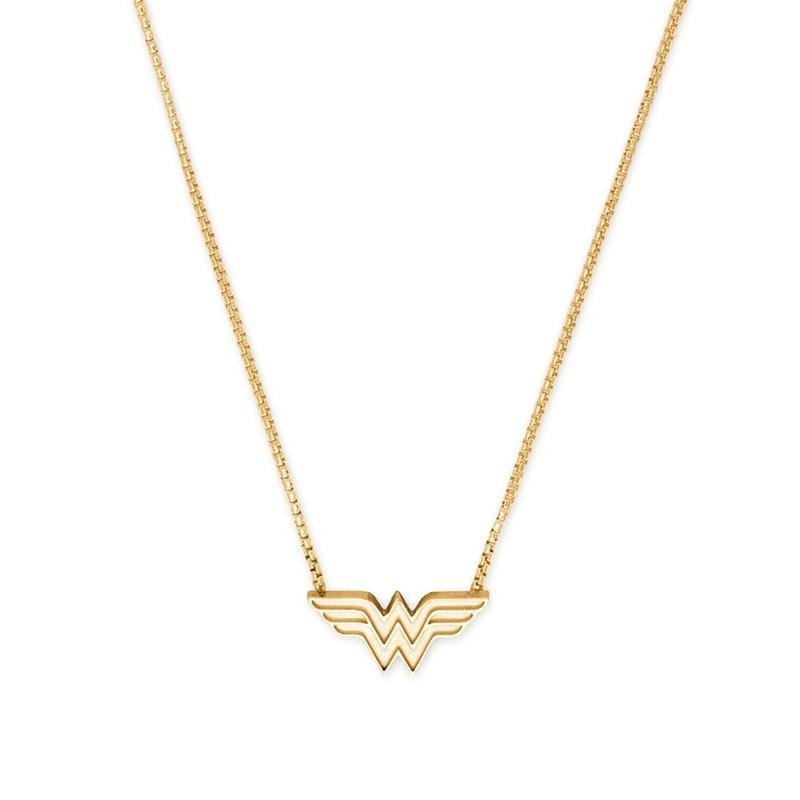 ALEX AND ANI Wonder Woman Gold Adjustable Necklace