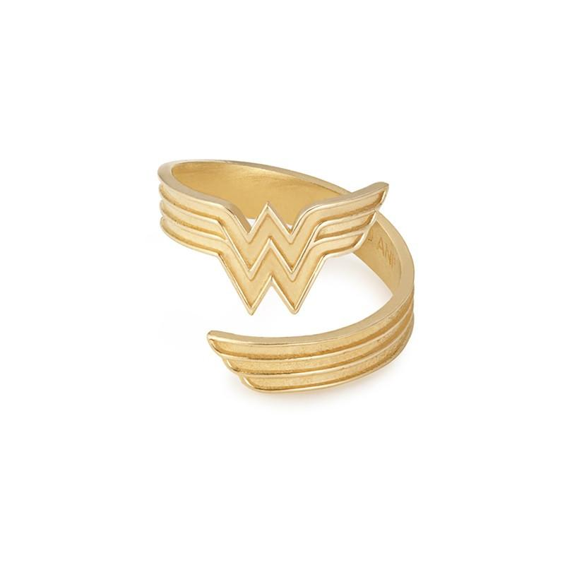 ALEX AND ANI Wonder Woman Gold Ring Wrap