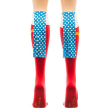 Wonder Woman Caped Boot Knee High Socks