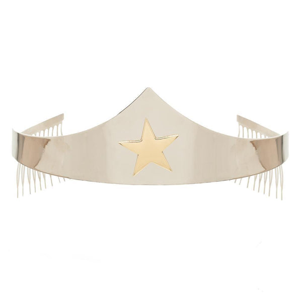 Wonder Woman Silver Tiara