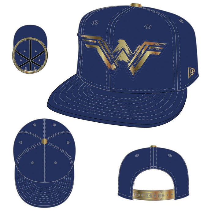 Wonder Woman Movie Foiled Print Logo 9FIFTY Snapback Cap