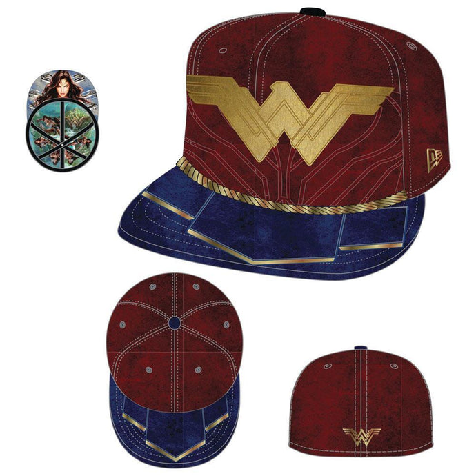Wonder Woman Movie Logo 59FIFTY Fitted Cap