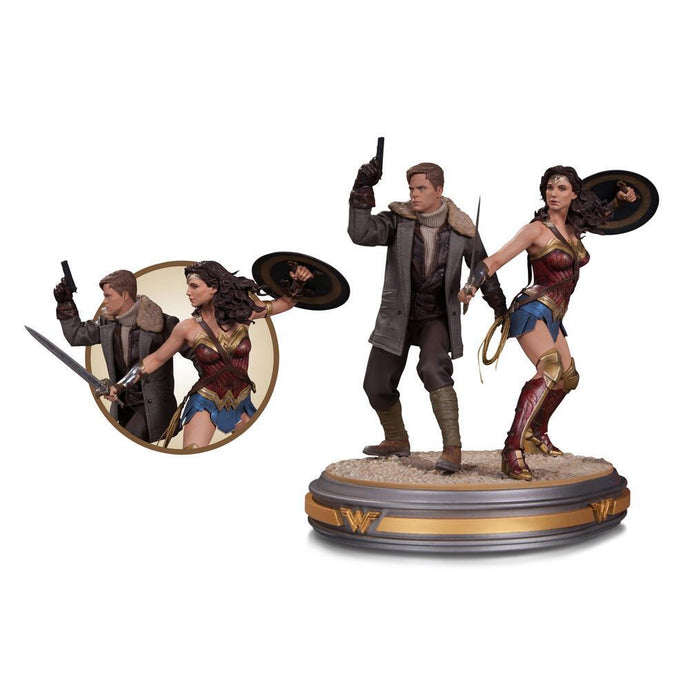 Wonder Woman Movie Wonder Woman & Steve Trevor Statue