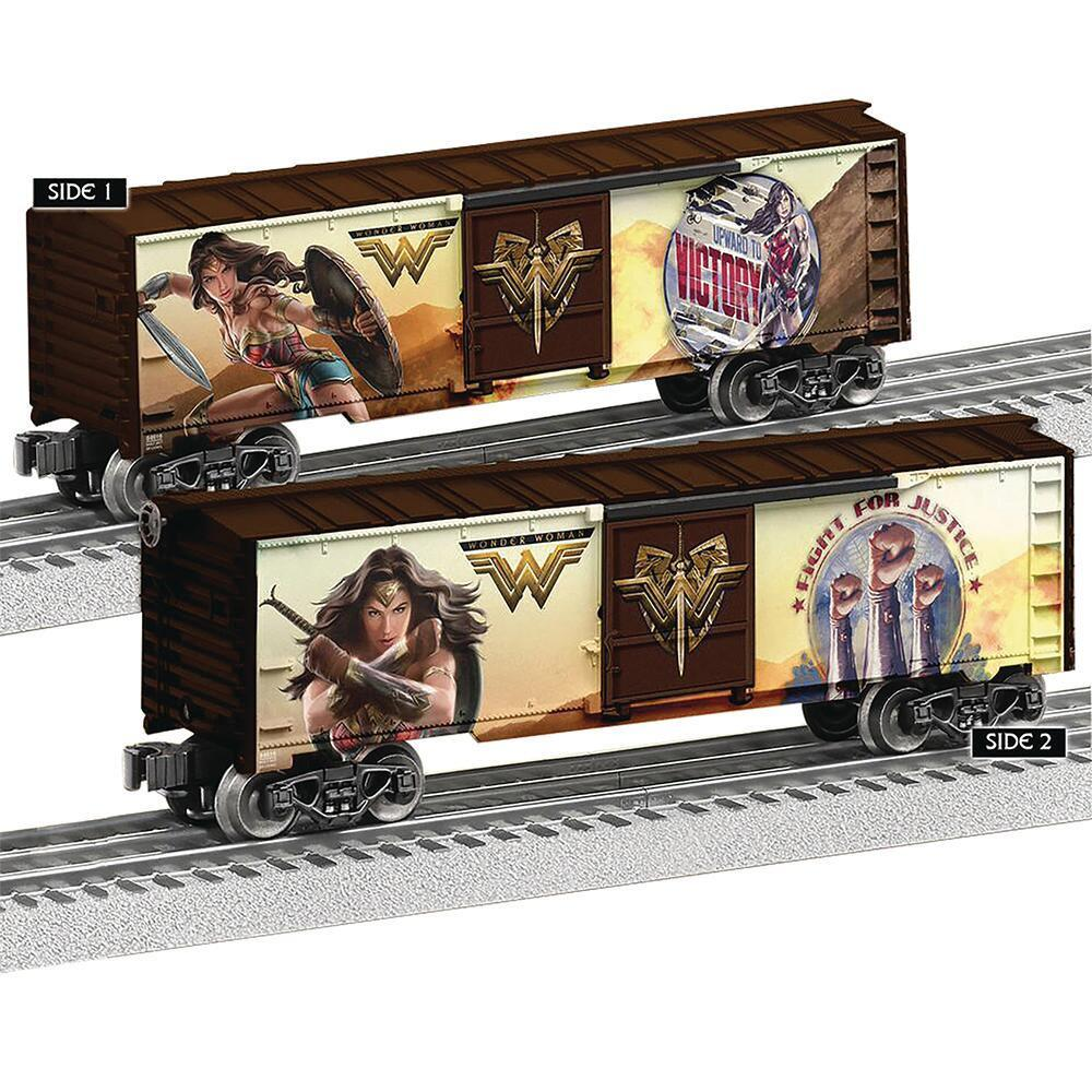 Wonder Woman Movie Boxcar