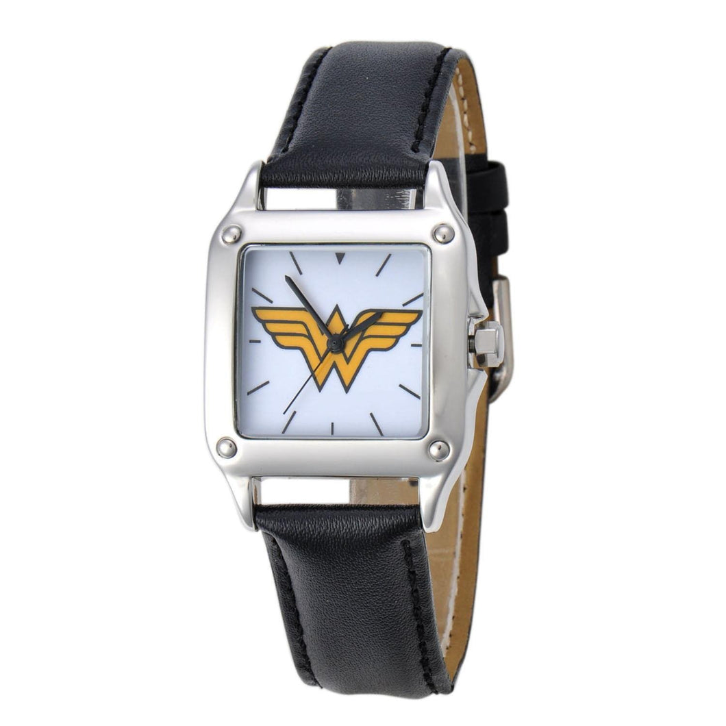 Wonder Woman Logo Square Watch