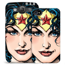 Wonder Woman Close-up Phone Case for iPhone and Galaxy