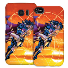 Wonder Woman and Superman In Love Phone Case for iPhone and Galaxy