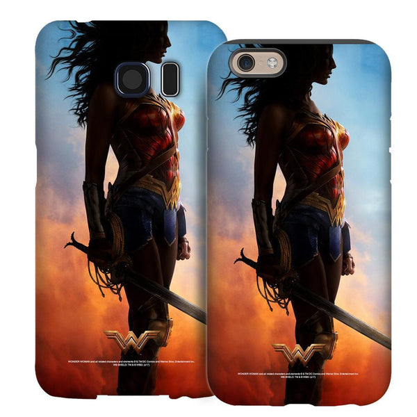 Wonder Woman Movie Silhouette Phone Case for iPhone and Galaxy