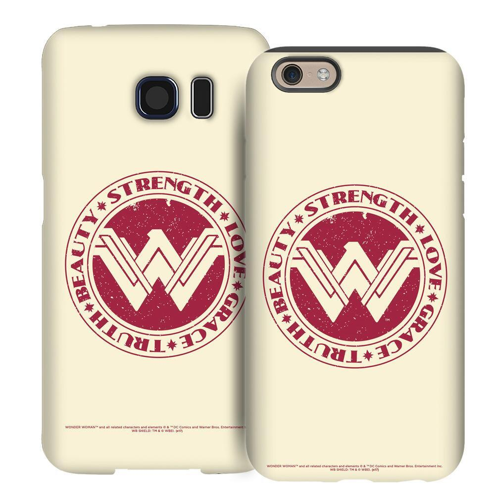 Wonder Woman Movie Love Strength Grace Phone Case for iPhone and Galaxy