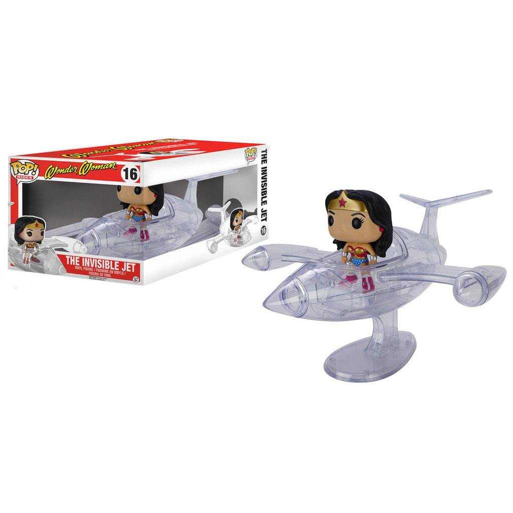 The Invisible Jet Pop! Ride and Wonder Woman Pop! Figure by Funko