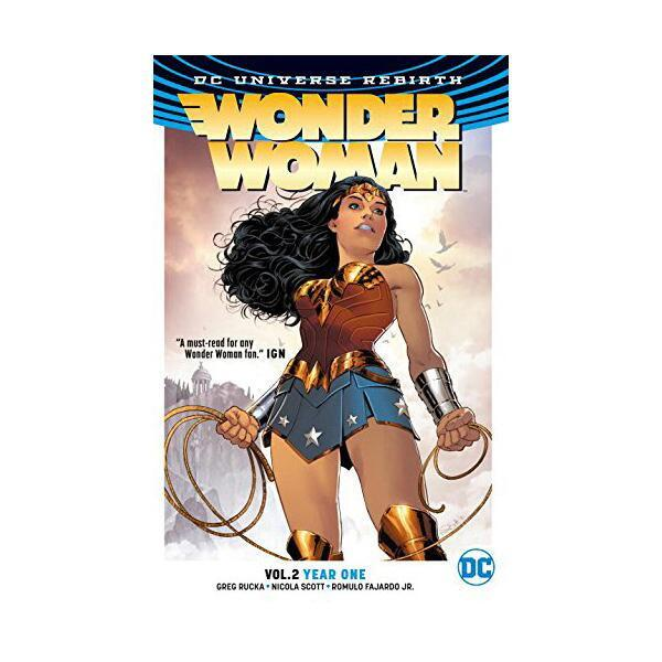 Wonder Woman Vol. 2: Year One (Rebirth) (Paperback)