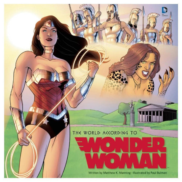 The World According to Wonder Woman (Hardcover)