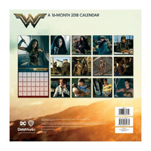 Wonder Woman Movie 2018 Wall Calendar