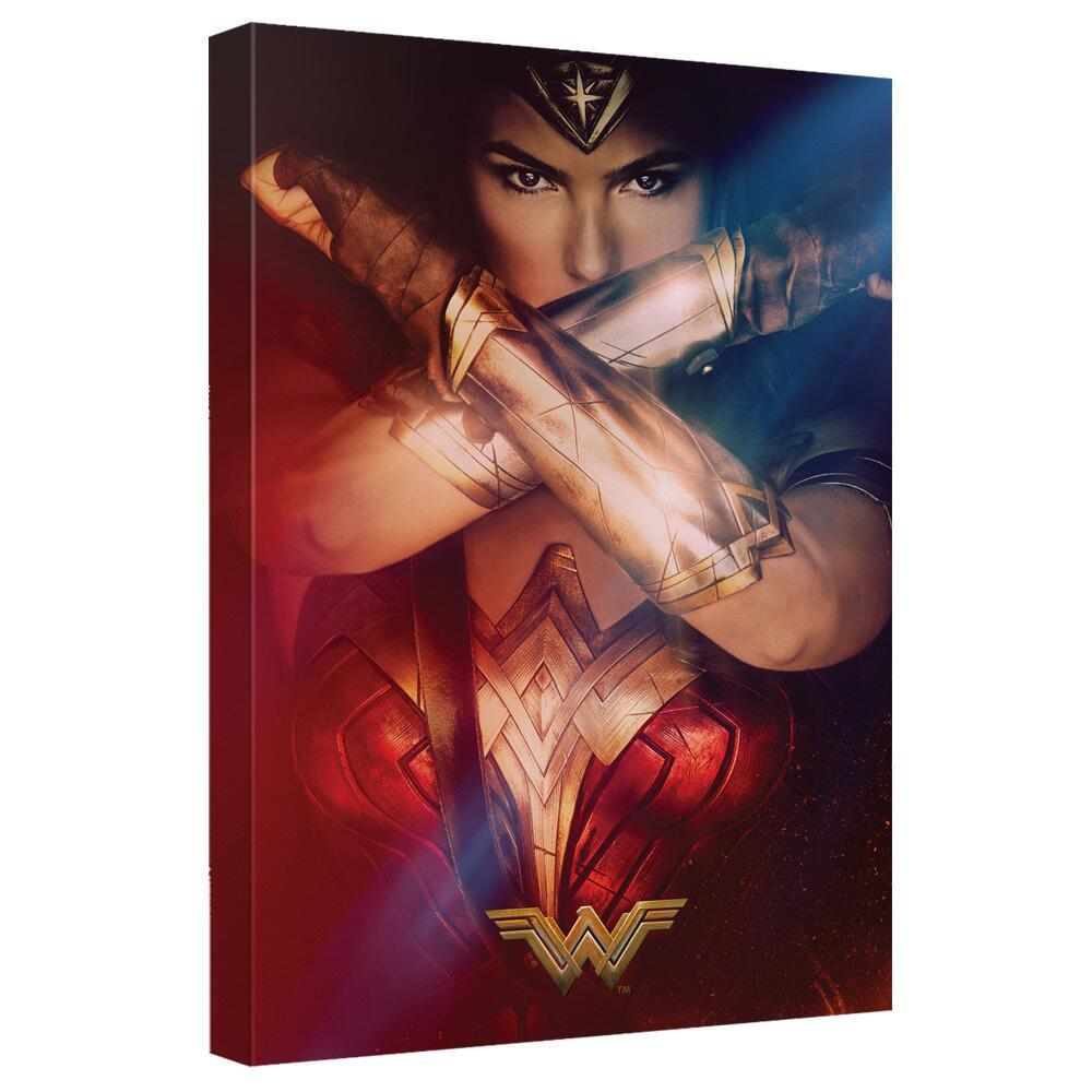 Wonder Woman Movie Power Poster Canvas Wall Art