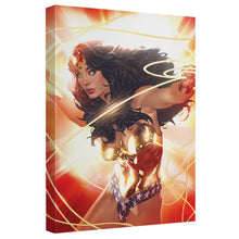 Wonder Woman Burst Canvas Wall Art