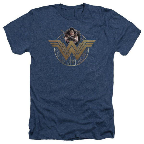 Wonder Woman Wonder Stars Heather T-shirt