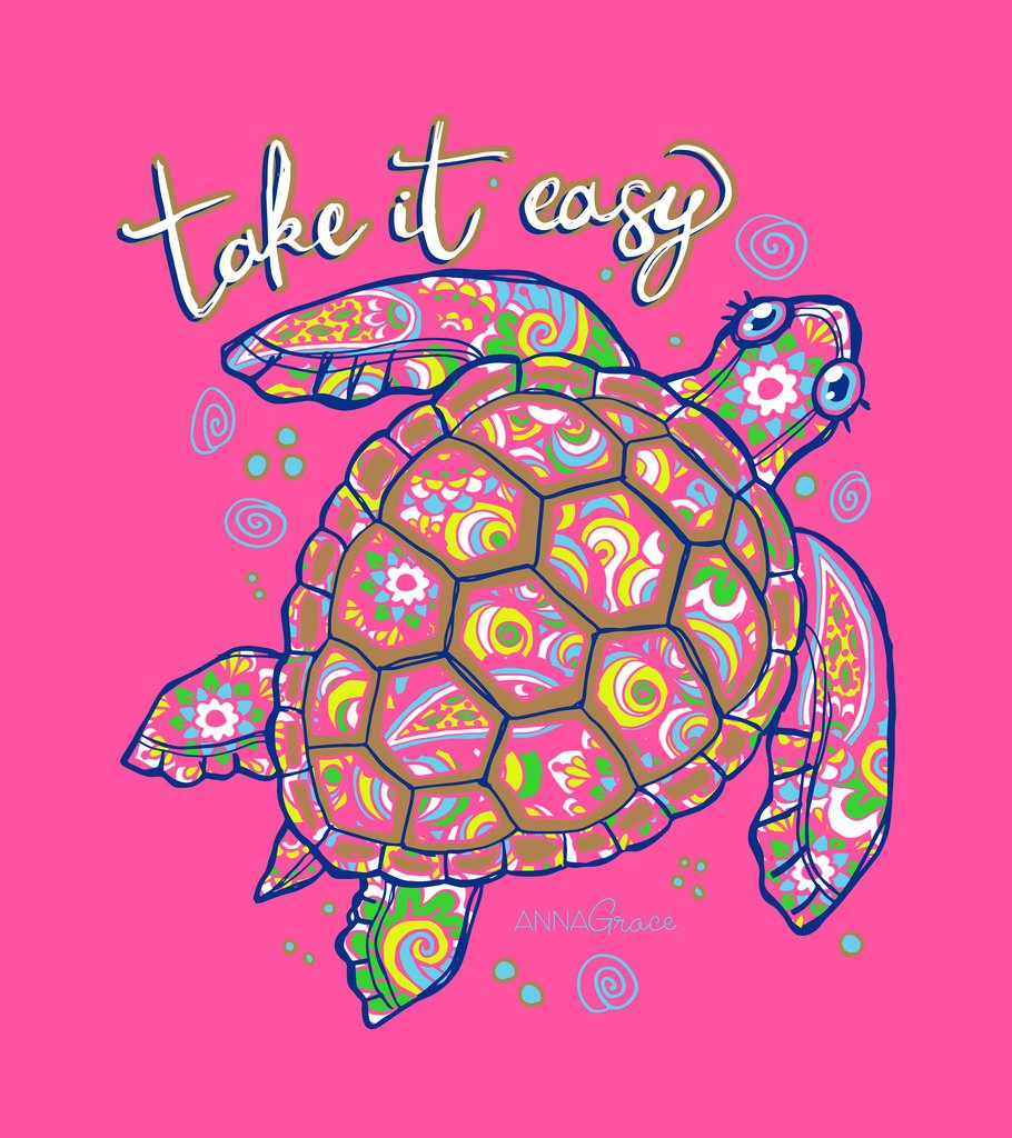 Glitter Turtle - Short Sleeve